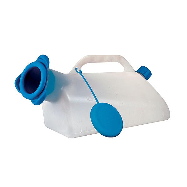 Urinflaschen und Bettpfannen