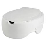 Toilettensitzerhöhung Soft (mit Deckel)