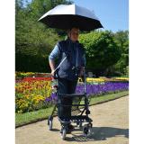 Regenschirm/Sonnenschirm für Rollator/Rollstuhl