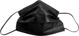 Mundschutz Typ 2R - 50er Box - schwarz